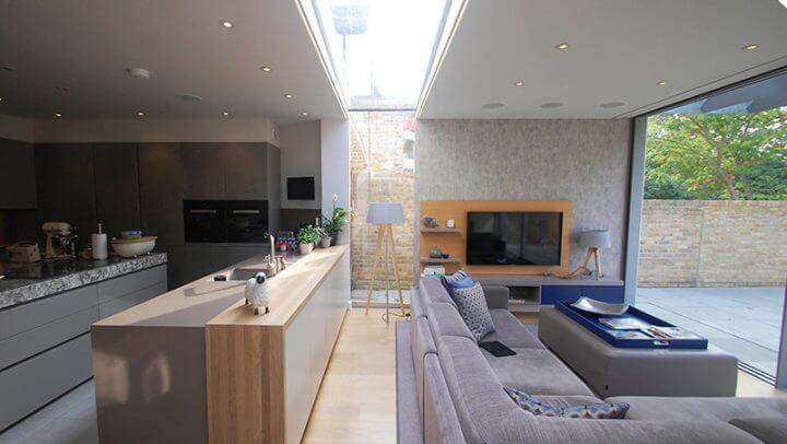 frameless rooflights london